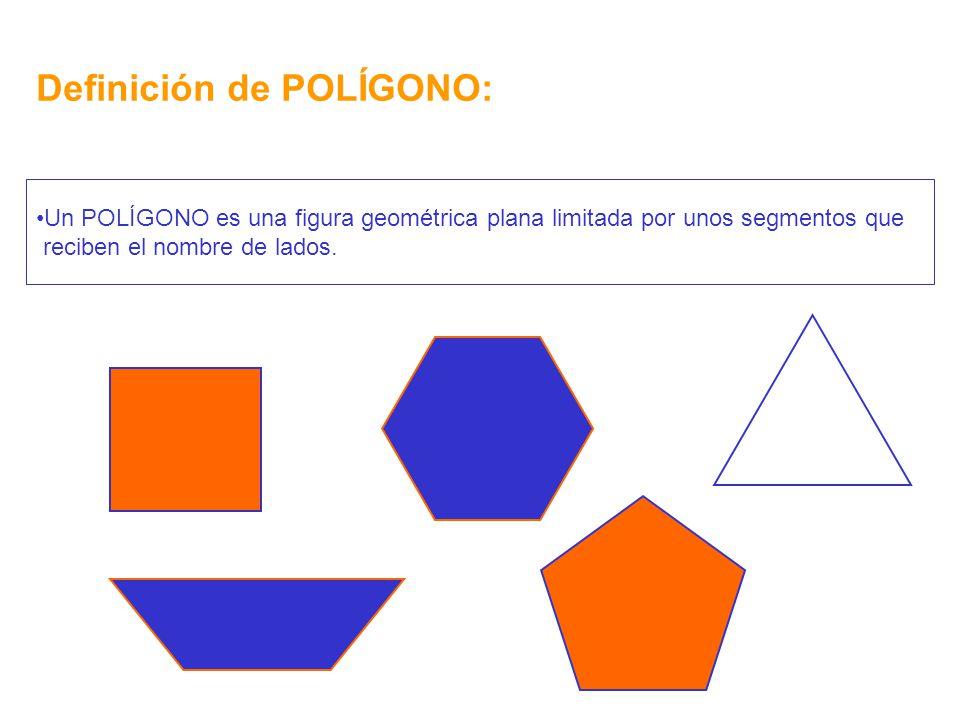 Definición de POLÍGONO: