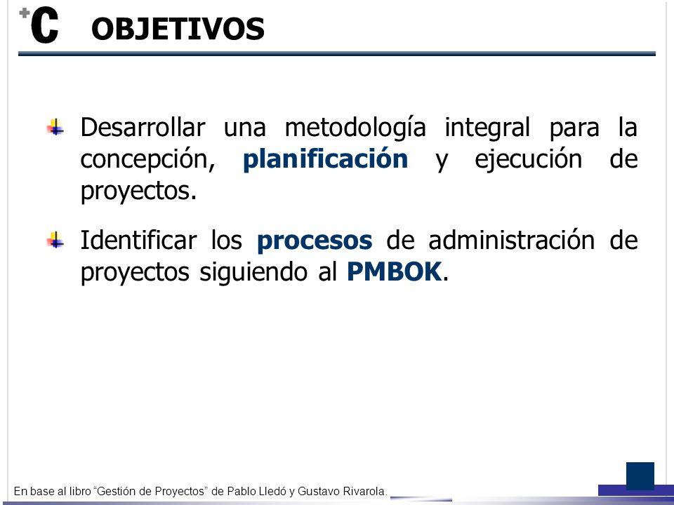 Gesti n de proyectos marco conceptual ppt video online - Gestion integral de proyectos ...