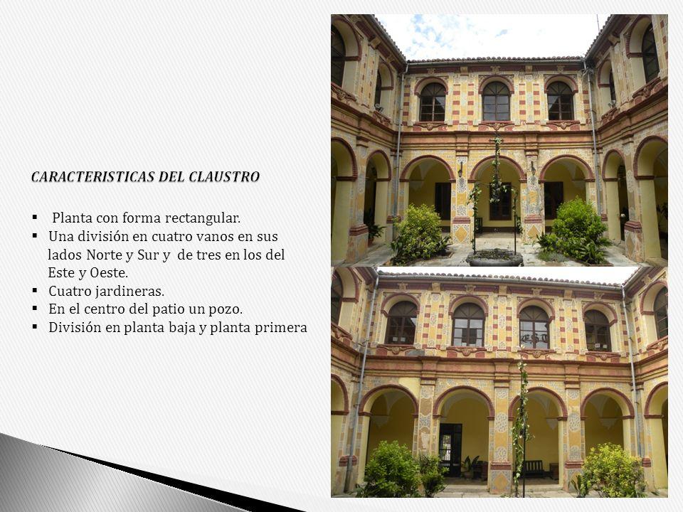 CARACTERISTICAS DEL CLAUSTRO