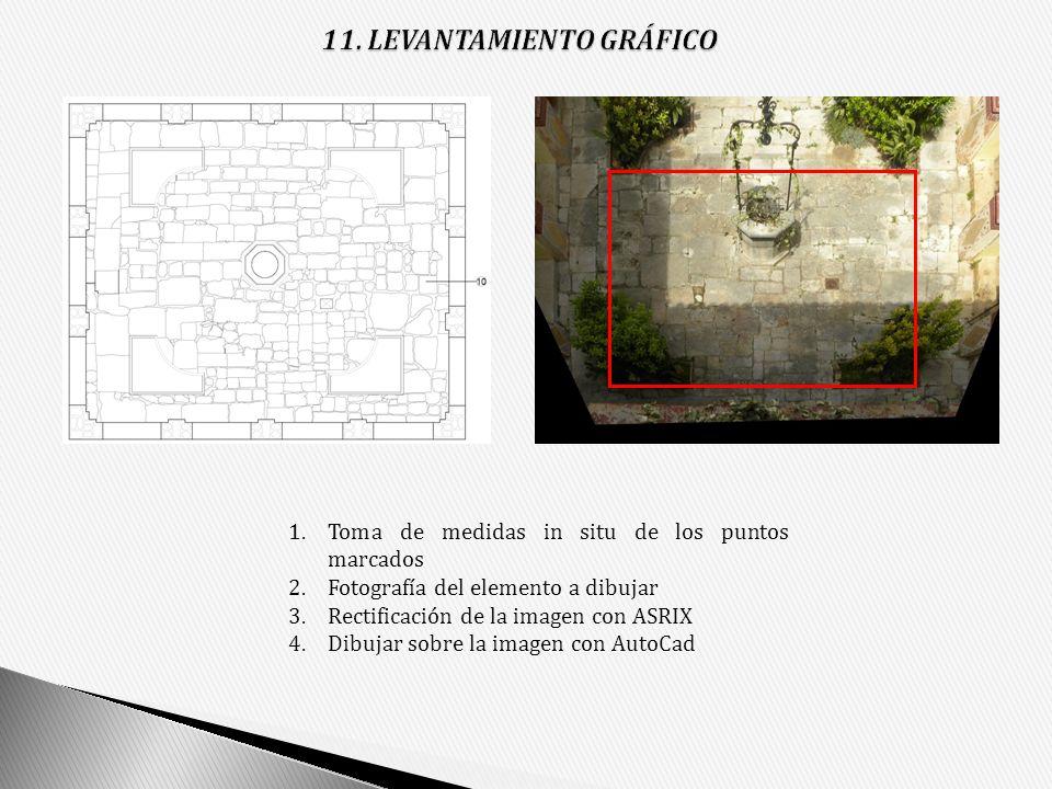11. LEVANTAMIENTO GRÁFICO
