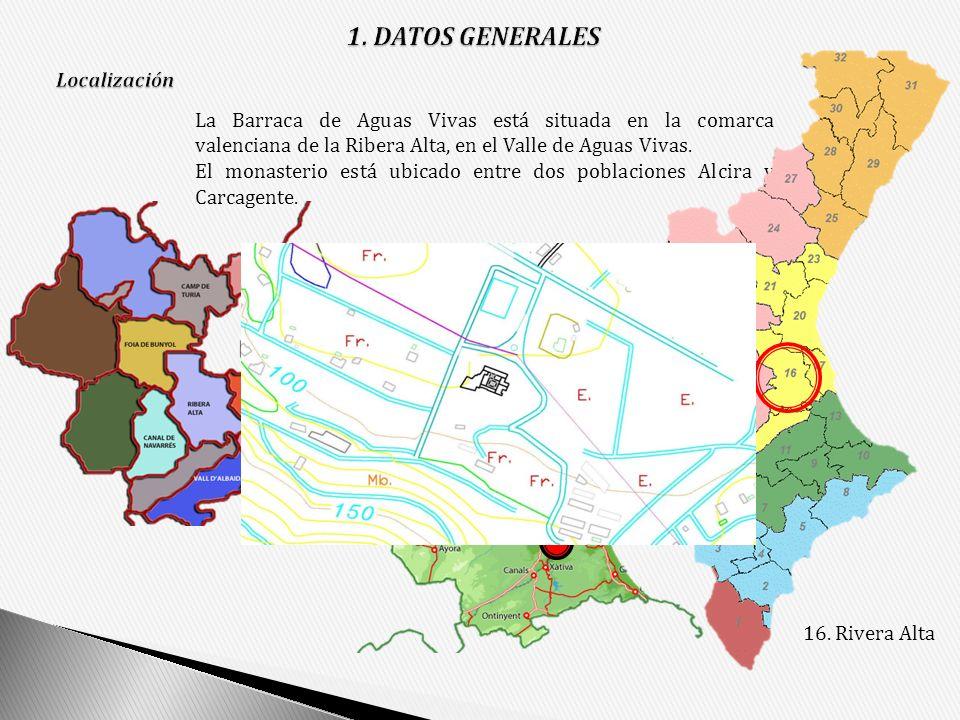 1. DATOS GENERALES 16. Rivera Alta Localización