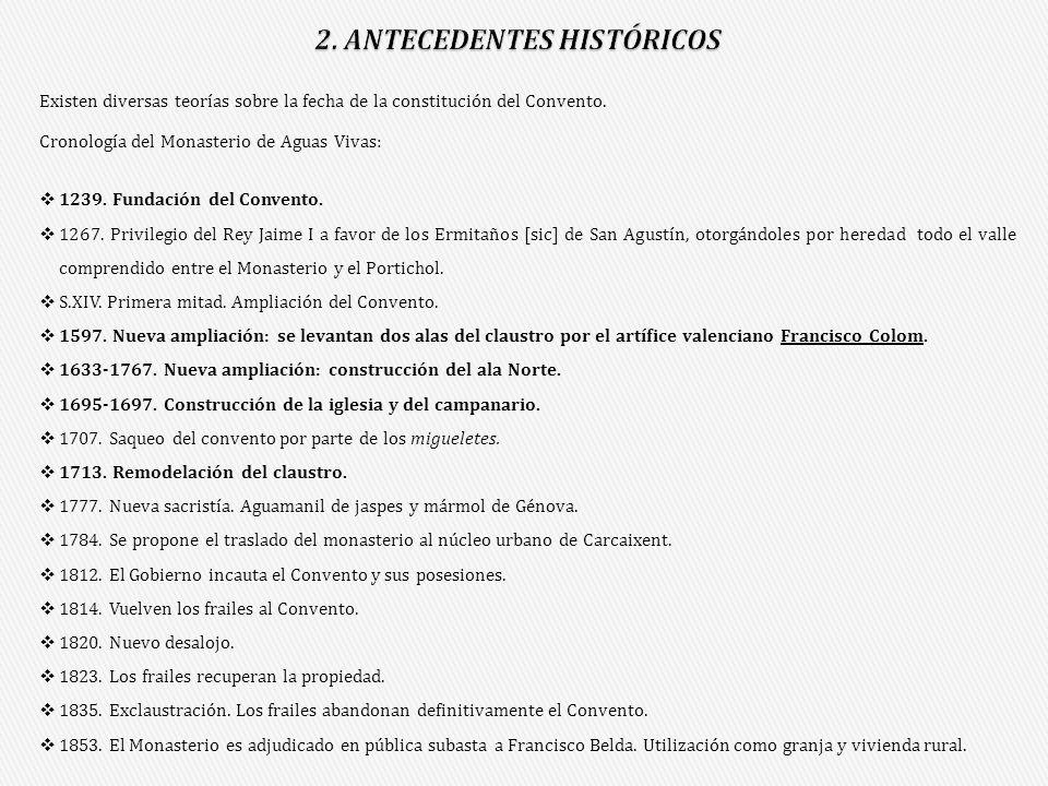 2. ANTECEDENTES HISTÓRICOS