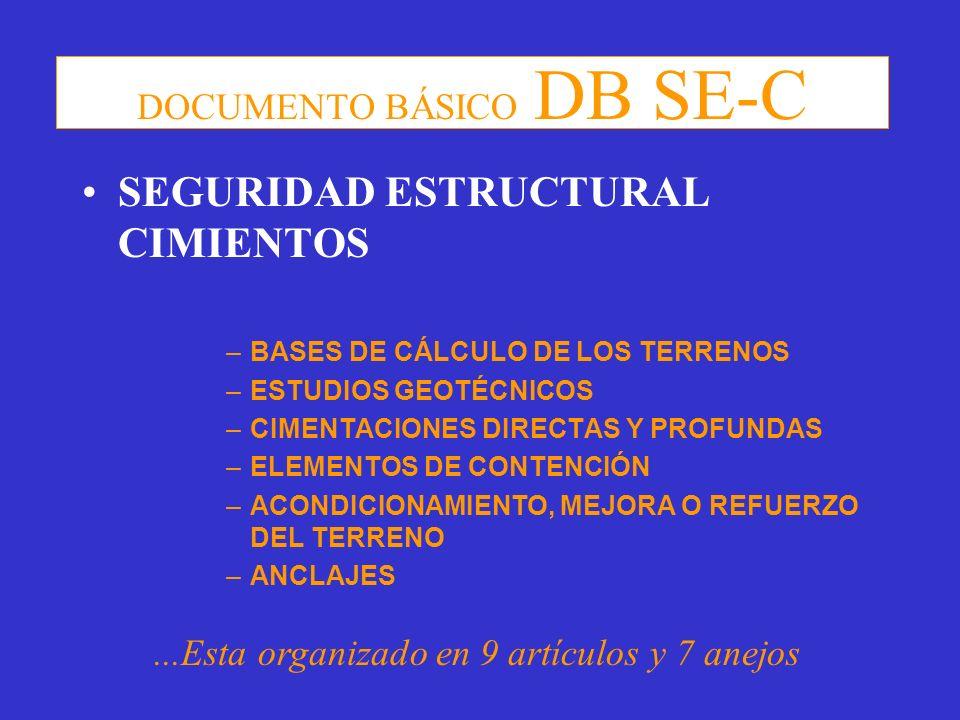 DOCUMENTO BÁSICO DB SE-C