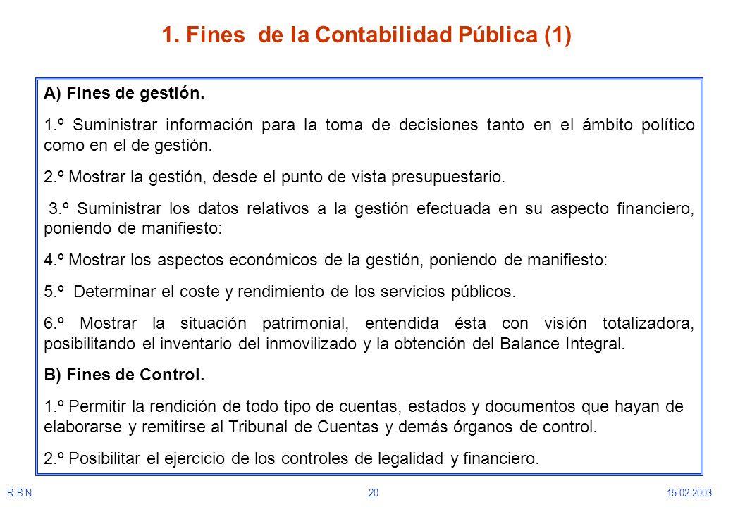 1. Fines de la Contabilidad Pública (1)