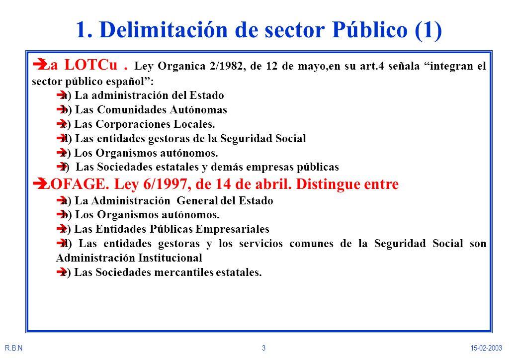1. Delimitación de sector Público (1)