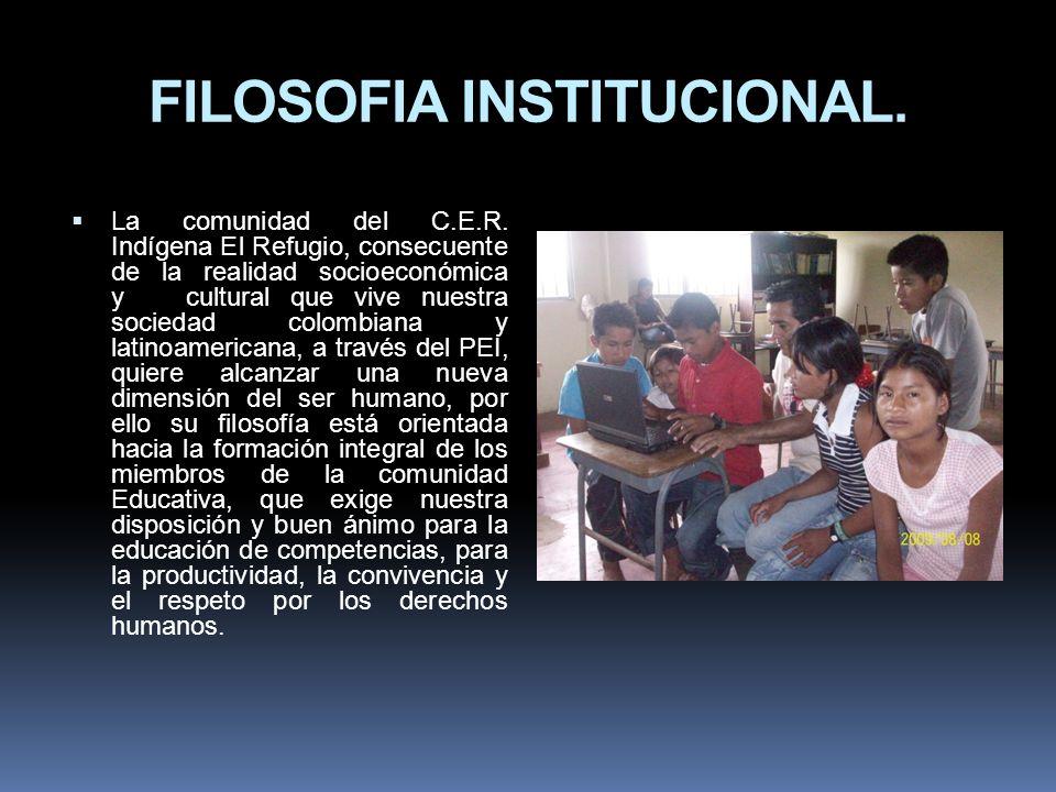 FILOSOFIA INSTITUCIONAL.