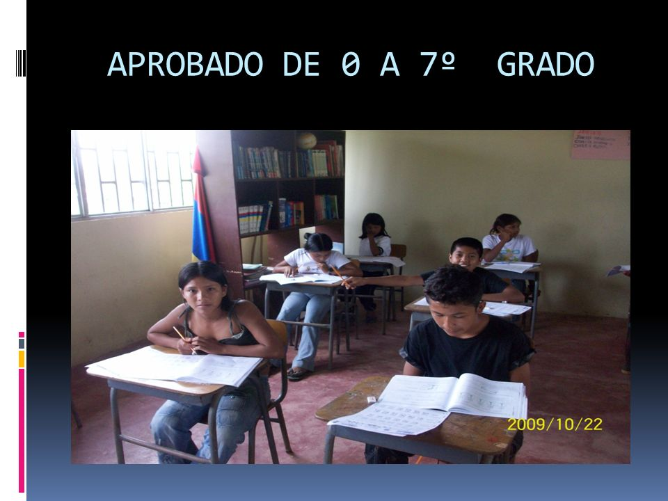 APROBADO DE 0 A 7º GRADO
