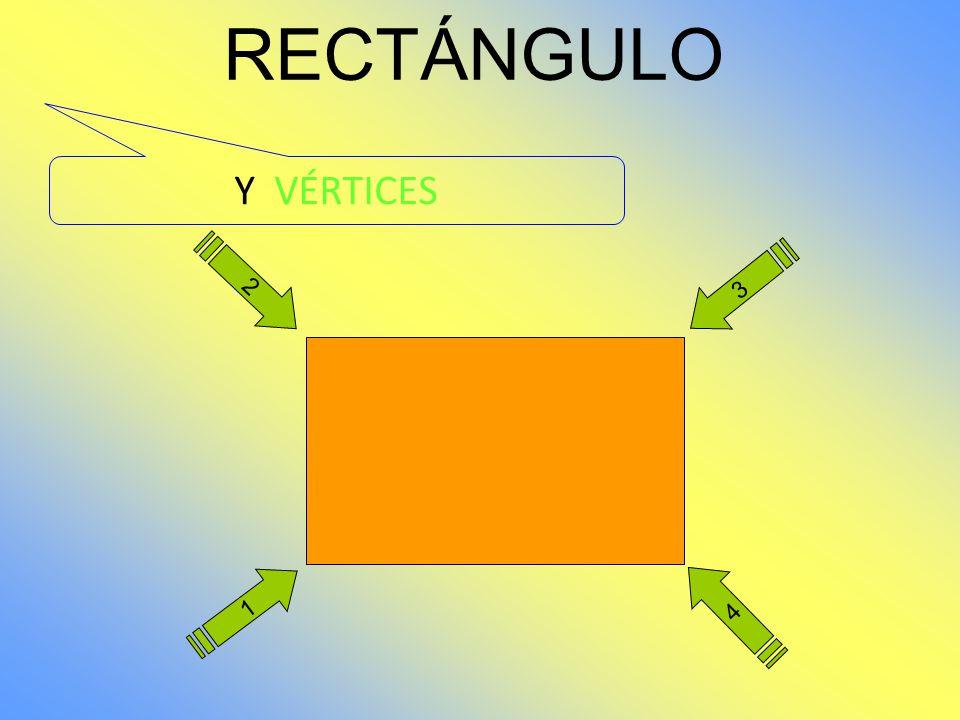 RECTÁNGULO Y VÉRTICES 2 3 1 4