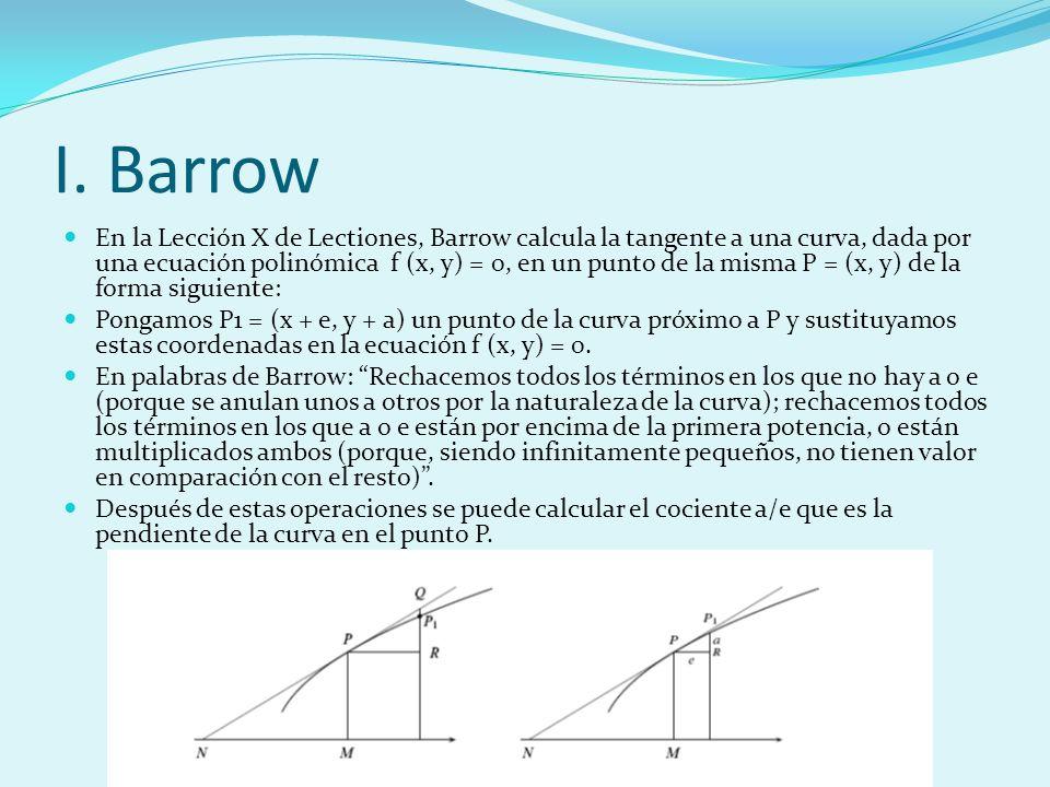 I. Barrow