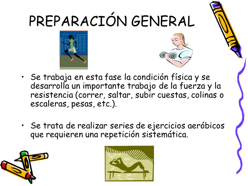 PREPARACIÓN GENERAL