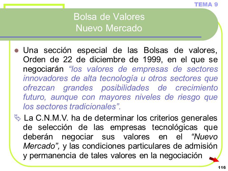 Bolsa de Valores Nuevo Mercado
