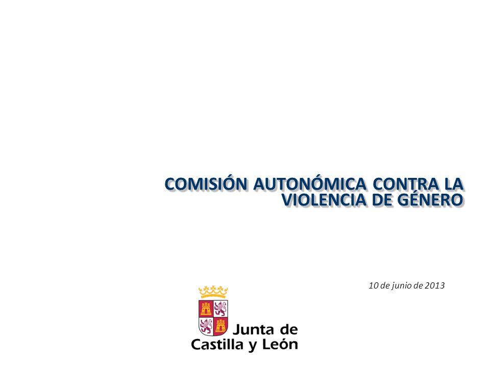 COMISIÓN AUTONÓMICA CONTRA LA VIOLENCIA DE GÉNERO