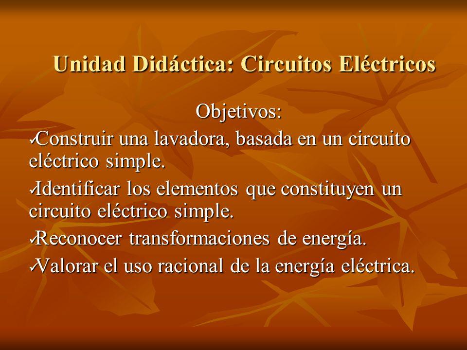 Unidad Didáctica: Circuitos Eléctricos - ppt descargar