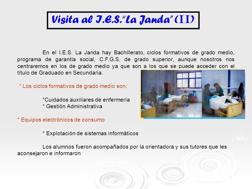 Visita al I.E.S. La Janda (II)