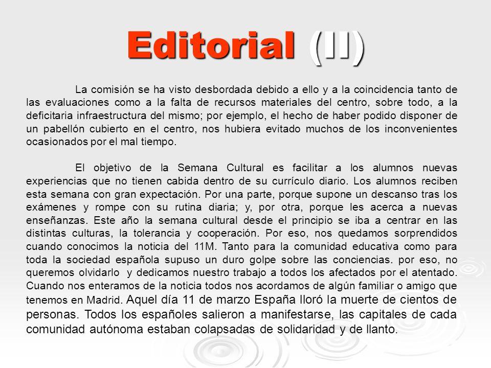 Editorial (II)