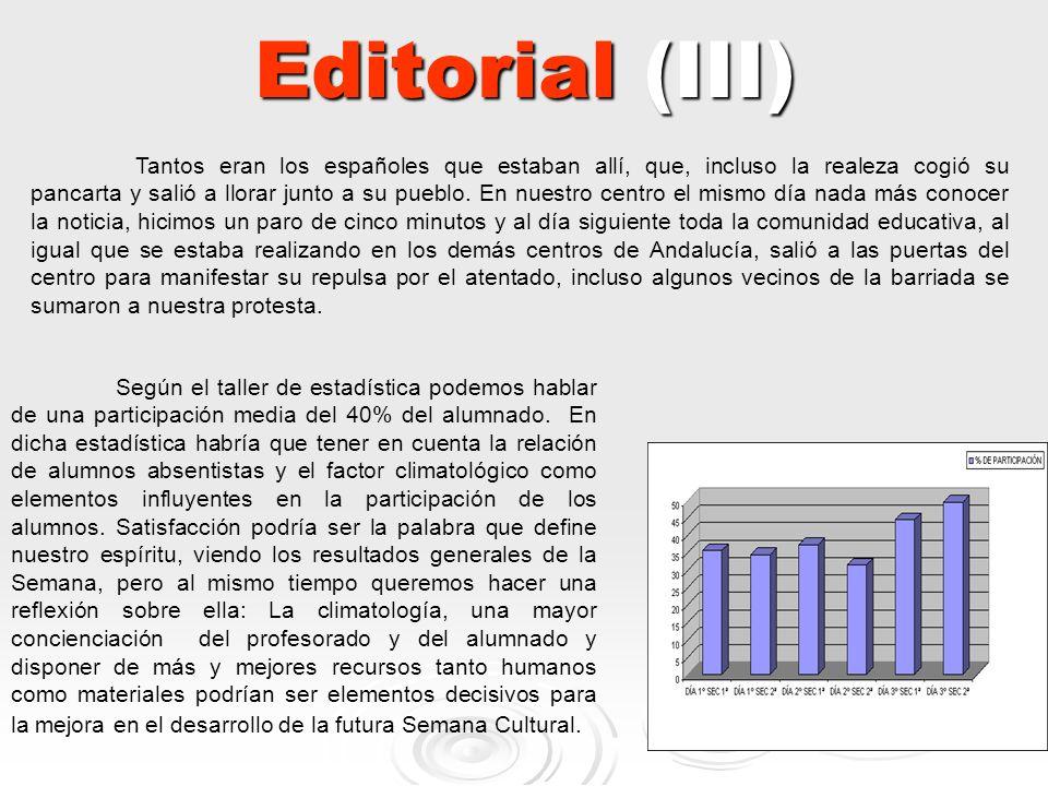 Editorial (III)