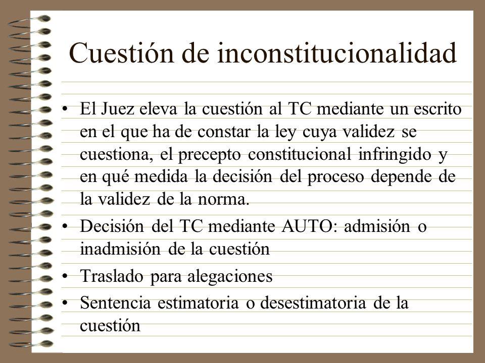 Cuestión de inconstitucionalidad