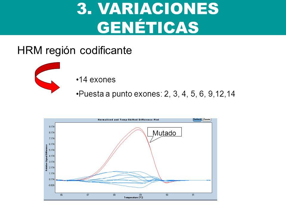 3. VARIACIONES GENÉTICAS