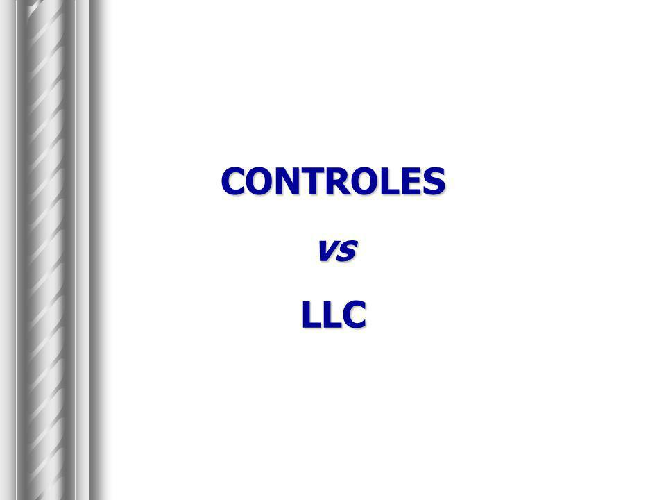 CONTROLES vs LLC