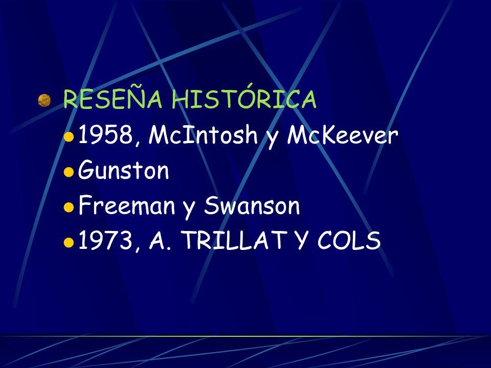 1958, McIntosh y McKeever Gunston Freeman y Swanson