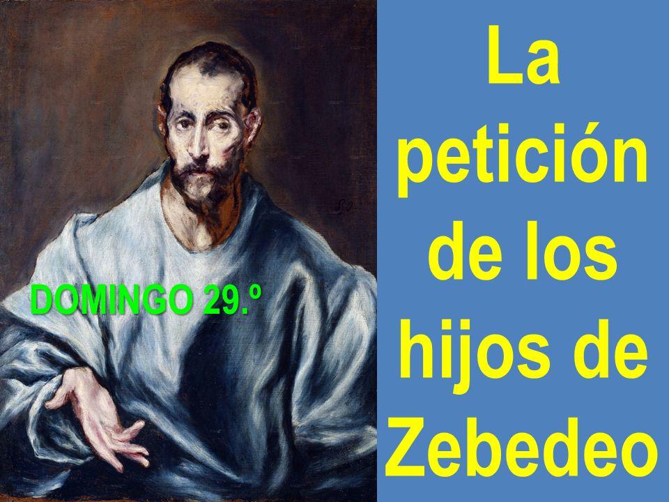 La petición de los hijos de Zebedeo