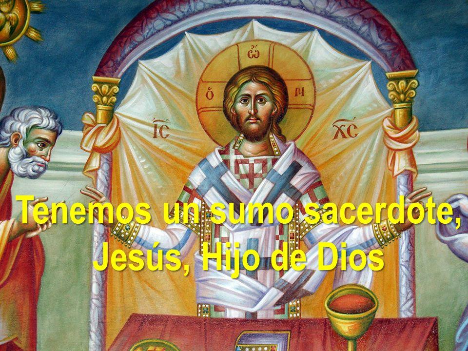 Tenemos un sumo sacerdote, Jesús, Hijo de Dios