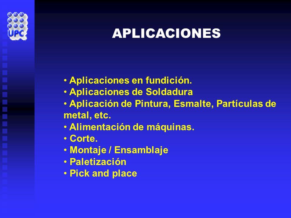 APLICACIONES Aplicaciones en fundición. Aplicaciones de Soldadura