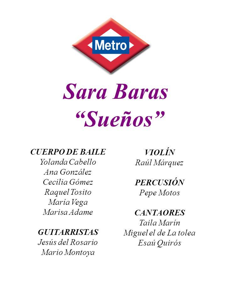 Sara Baras Sueños VIOLÍN CUERPO DE BAILE Raúl Márquez