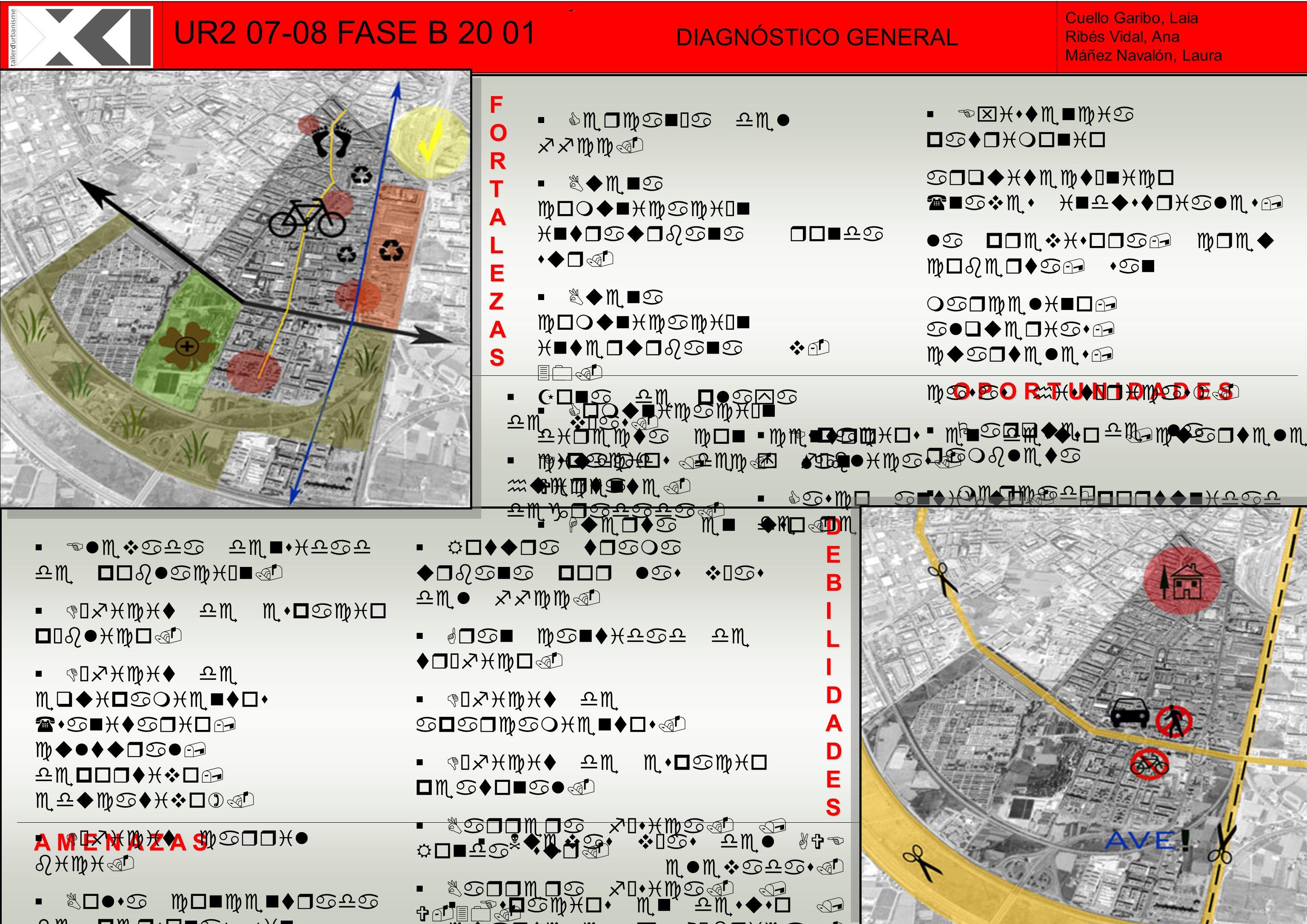 UR2 07-08 FASE B 20 01 DIAGNÓSTICO GENERAL FORTALEZAS