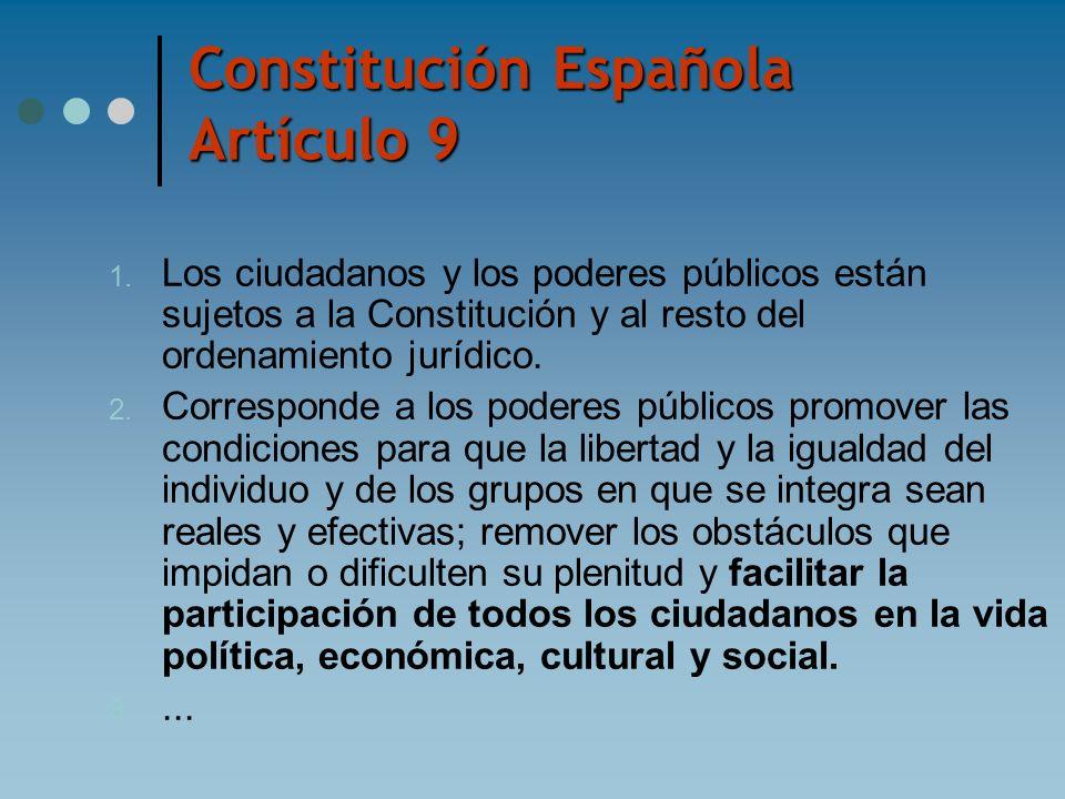 Constitución Española Artículo 9