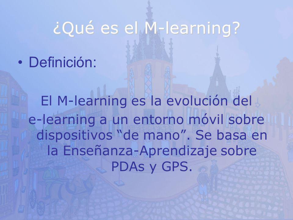El M-learning es la evolución del
