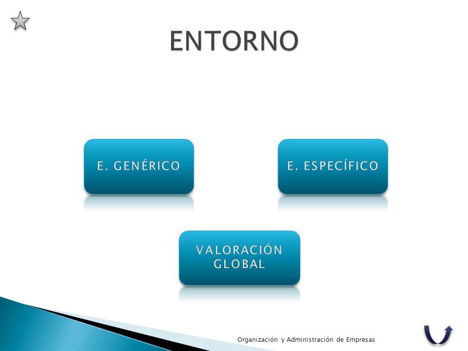 ENTORNO E. GENÉRICO E. ESPECÍFICO VALORACIÓN GLOBAL