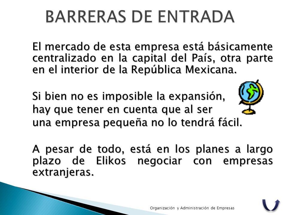 BARRERAS DE ENTRADA