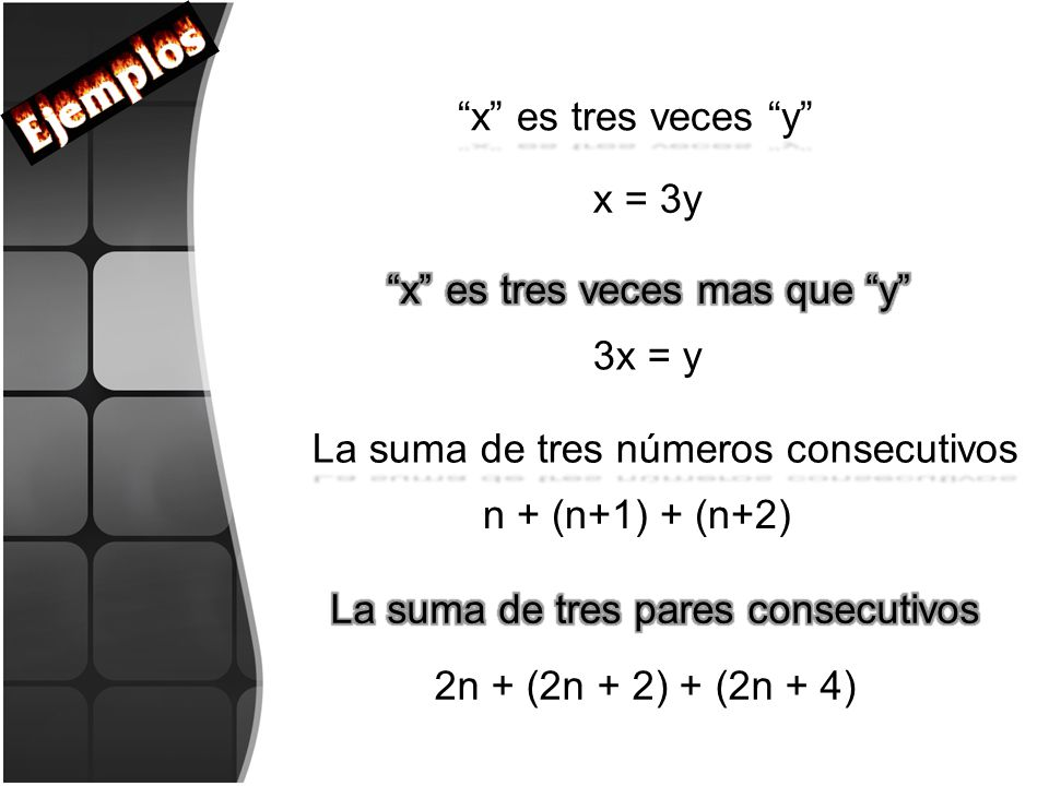 La suma de tres pares consecutivos