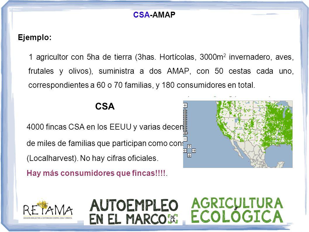 CSA-AMAP Ejemplo: