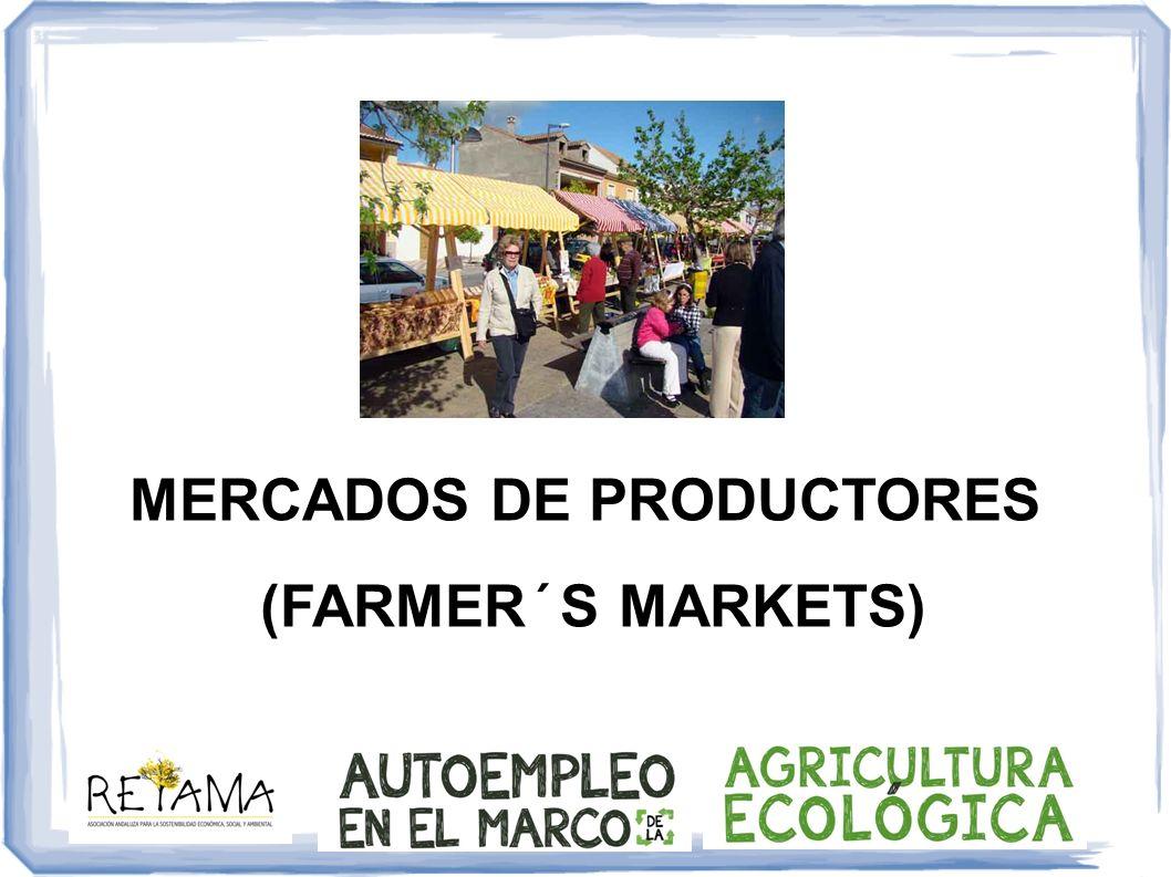 MERCADOS DE PRODUCTORES