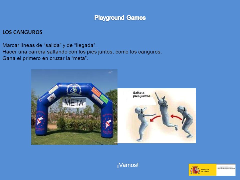 Playground Games LOS CANGUROS ¡Vamos!