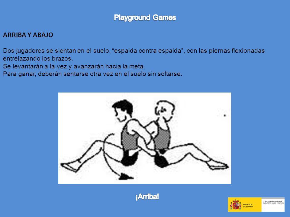 Playground Games ARRIBA Y ABAJO ¡Arriba!