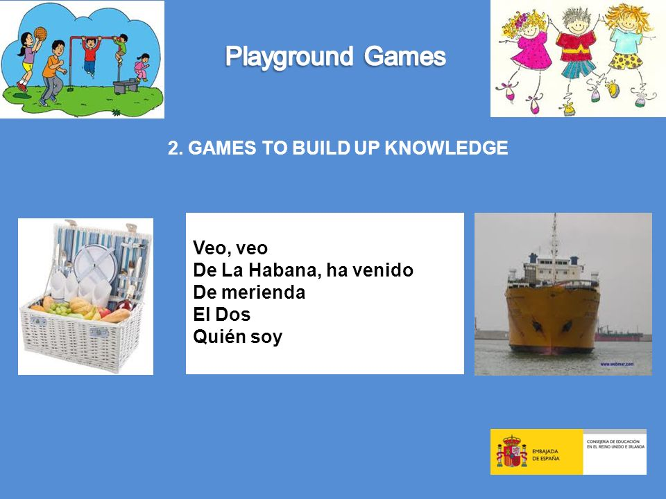 2. GAMES TO BUILD UP KNOWLEDGE