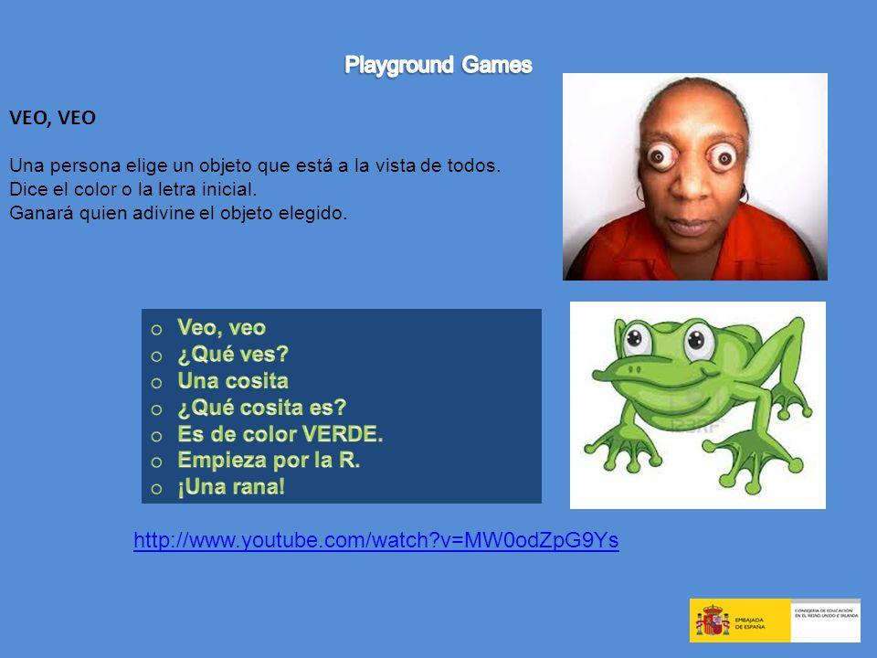 Playground Games VEO, VEO Veo, veo ¿Qué ves Una cosita