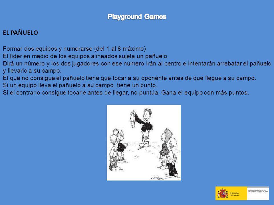 Playground Games EL PAÑUELO