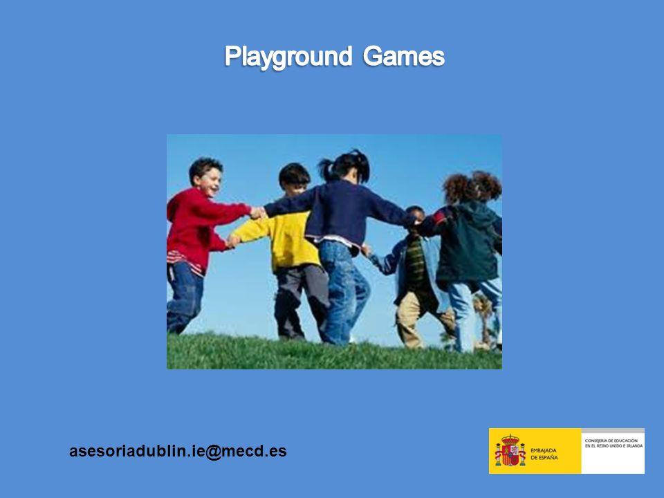 Playground Games asesoriadublin.ie@mecd.es