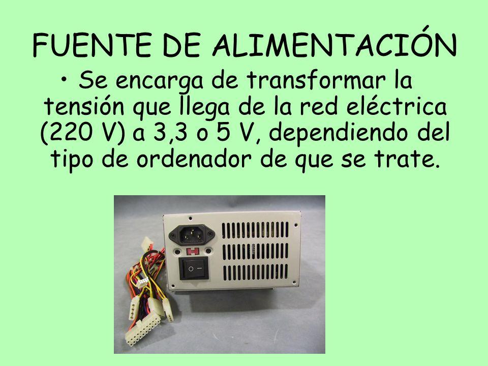 FUENTE DE ALIMENTACIÓN