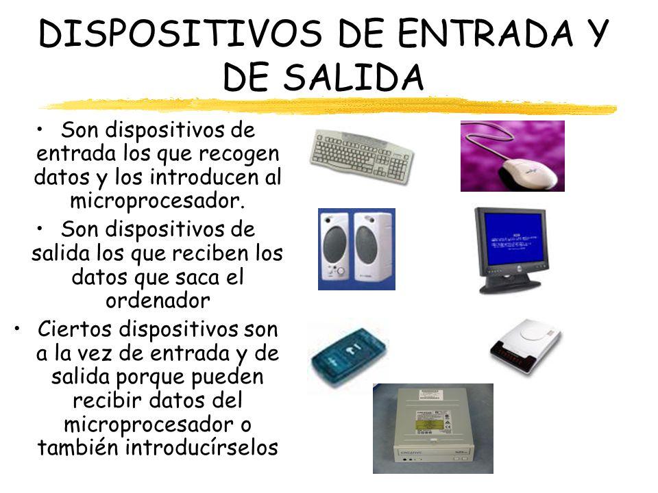 DISPOSITIVOS DE ENTRADA Y DE SALIDA