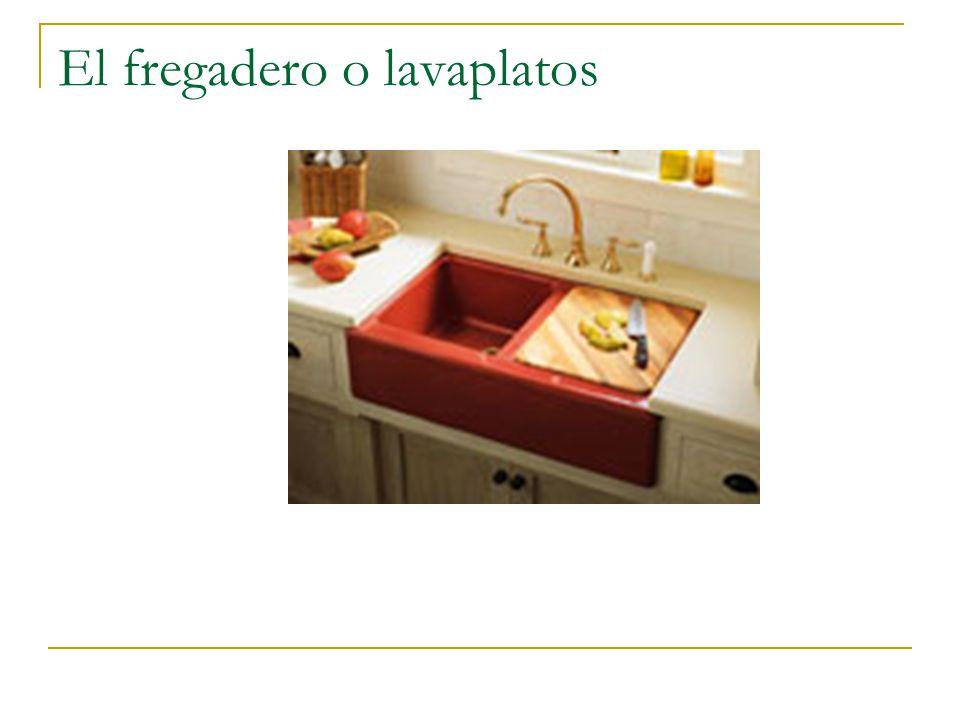 El fregadero o lavaplatos