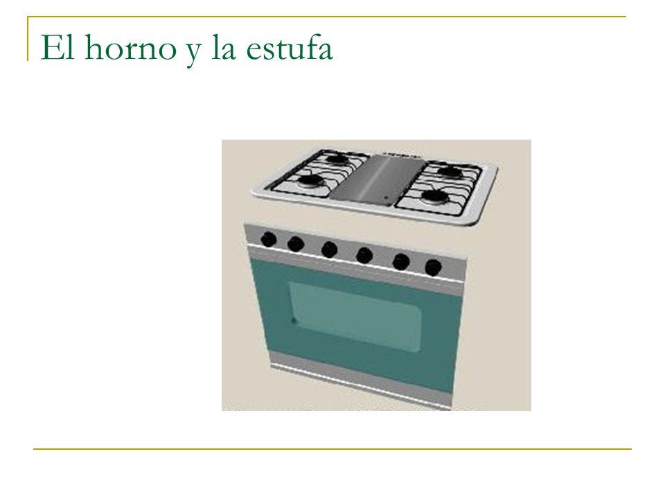 El horno y la estufa