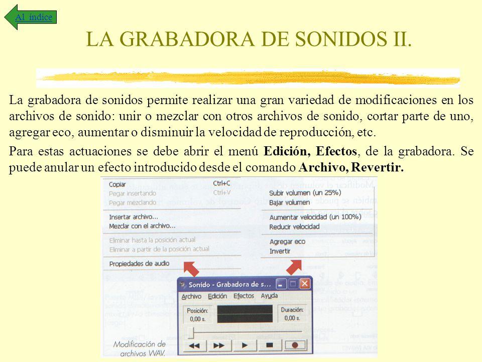 LA GRABADORA DE SONIDOS II.