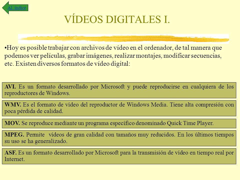 Al índice VÍDEOS DIGITALES I.
