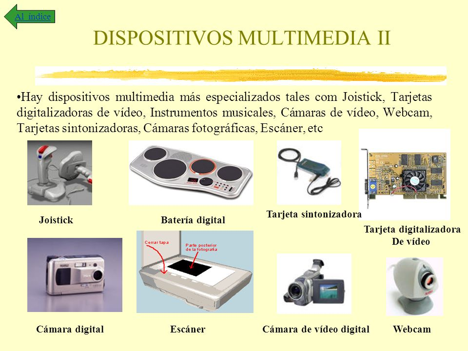 DISPOSITIVOS MULTIMEDIA II