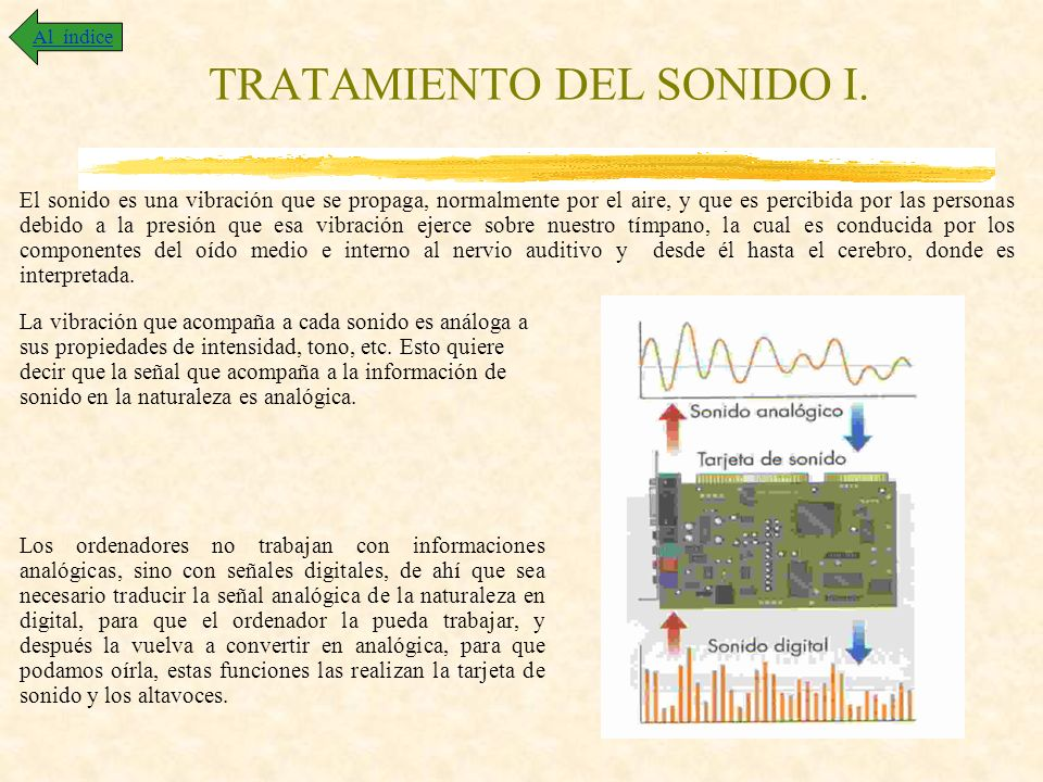 TRATAMIENTO DEL SONIDO I.